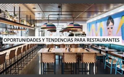 10 tendencias que marcan a los restaurantes y negocios gastronómicos